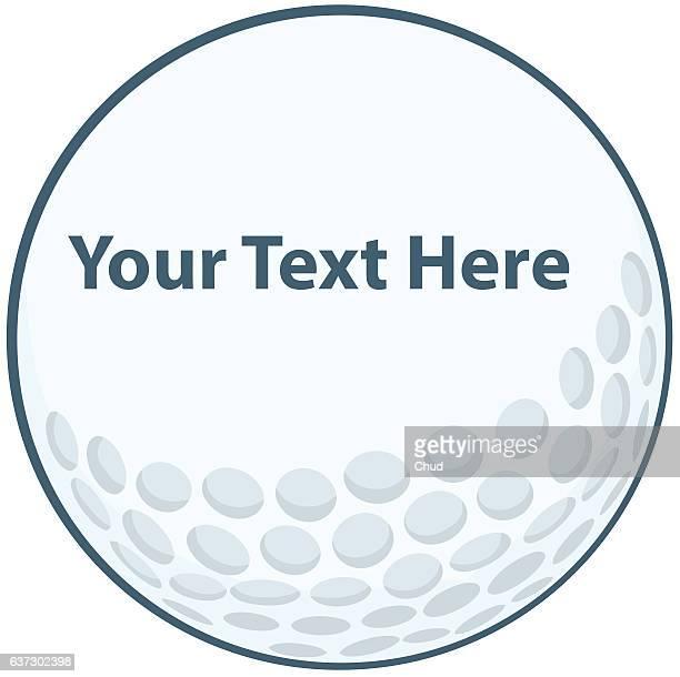 golf ball - sports target stock illustrations
