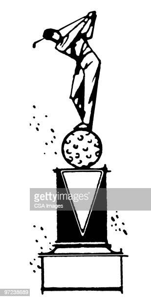Golf Trophy High Res Vector Graphic Getty Images