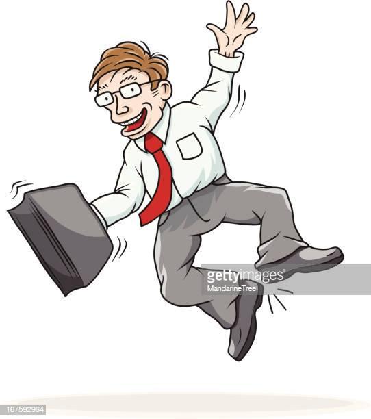 i got the job! - friday stock illustrations, clip art, cartoons, & icons