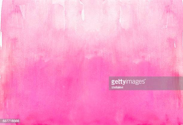 Graded watercolor wash background in pink tones