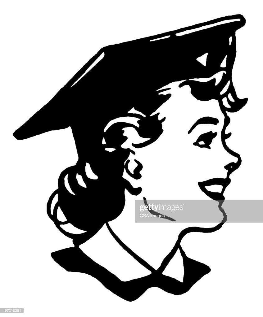 Graduate : stock illustration