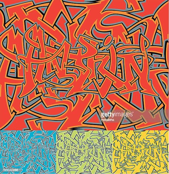 ilustrações de stock, clip art, desenhos animados e ícones de graffiti (vector - hip hop