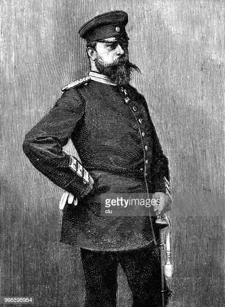 stockillustraties, clipart, cartoons en iconen met grand hertog lodewijk iv van hessen-kassel - duke