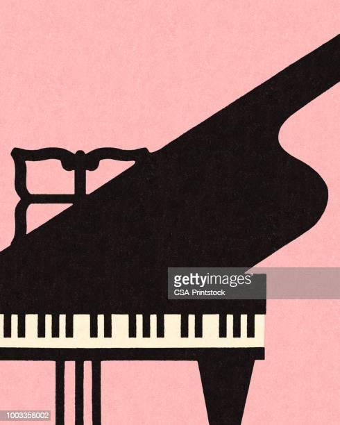 グランドピアノ - グランドピアノ点のイラスト素材/クリップアート素材/マンガ素材/アイコン素材