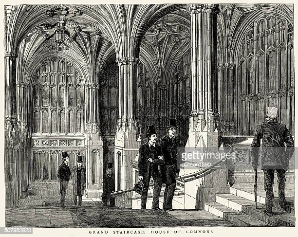 Grand Staircase, House of Commons