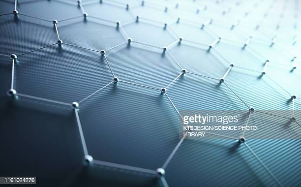 graphene, illustration - molekül stock-grafiken, -clipart, -cartoons und -symbole