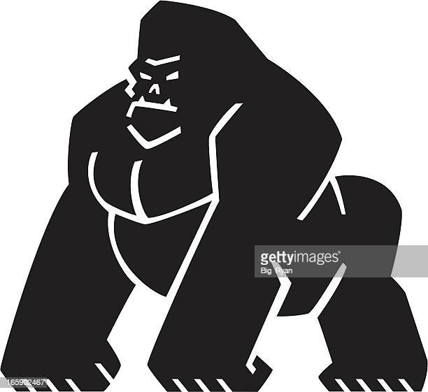graphic gorilla logo