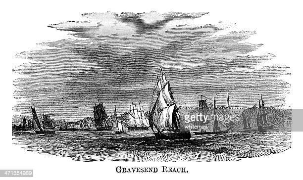 Gravesend Reach (1871 engraving)