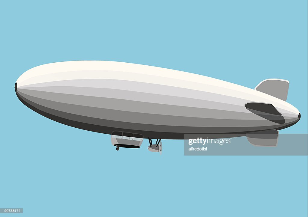 Gray Blimp
