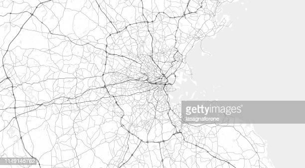 greater boston - boston massachusetts stock illustrations