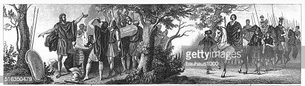 Grecian Funeral and Death Feast