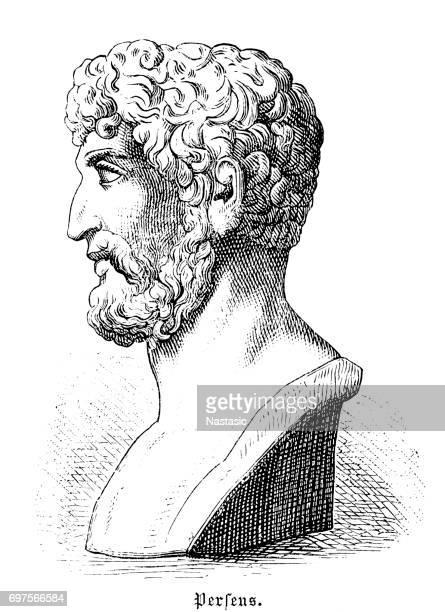 ギリシャの男性 - ポセイドン点のイラスト素材/クリップアート素材/マンガ素材/アイコン素材