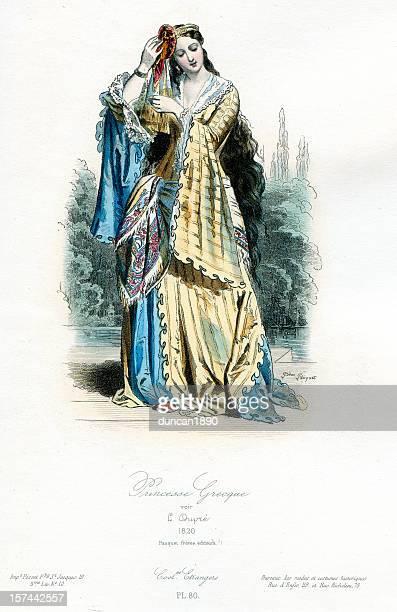 Greek Princess Traditional Costume