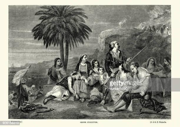 Greek War of Independence, The Fugitives