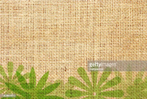 緑の背景 - 荒い麻布点のイラスト素材/クリップアート素材/マンガ素材/アイコン素材