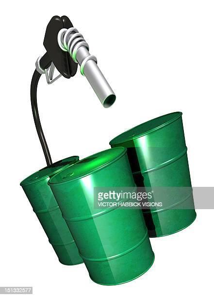illustrations, cliparts, dessins animés et icônes de green fuel, conceptual artwork - fuel pump