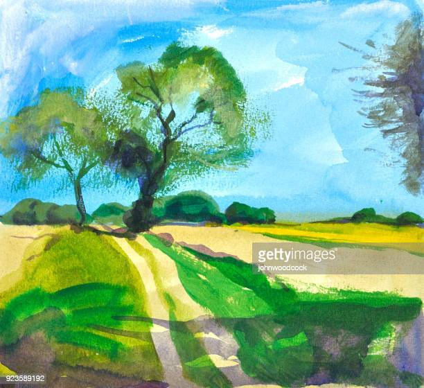 Green lane painting