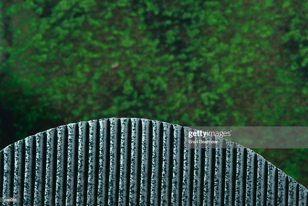 Green Sky with Metal Horizon : Stockillustraties