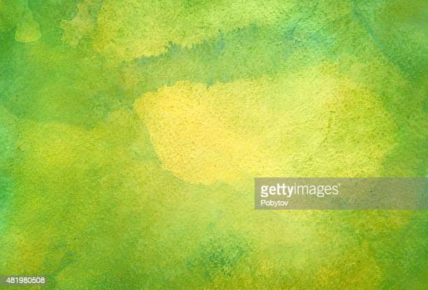 green watercolor background - green color stock illustrations