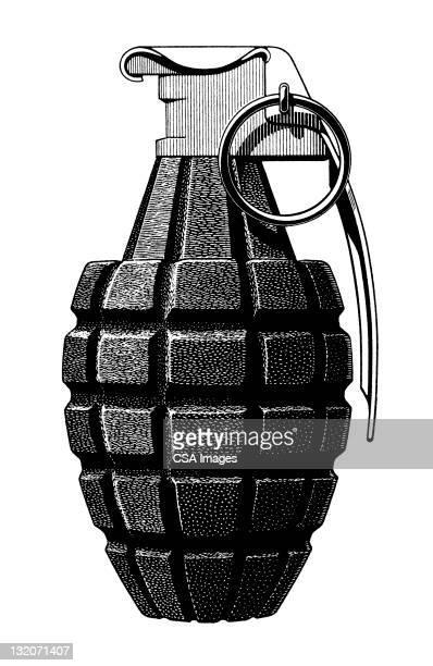 illustrations, cliparts, dessins animés et icônes de grenade - guerre