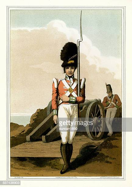 Grenadier of the First West Yorkshire Militia