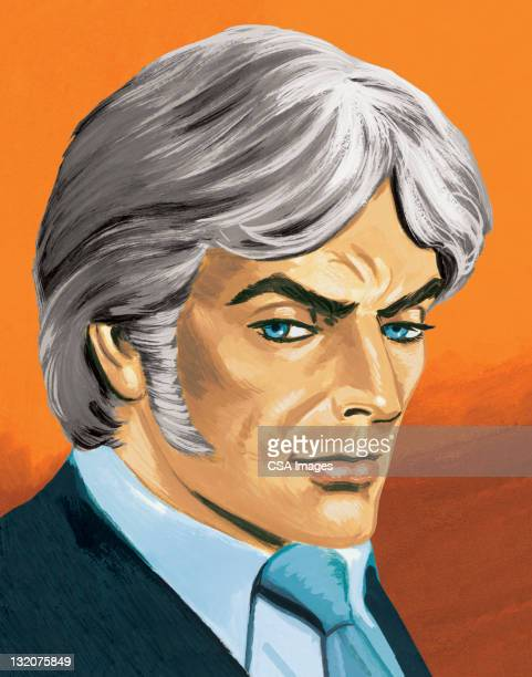 Grey-Haired Man