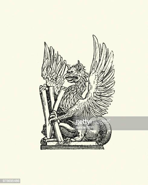 griffin - griffin stock illustrations, clip art, cartoons, & icons