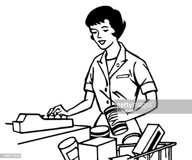 Cashier Cartoons: 60 Top Cashier Stock Illustrations, Clip Art, Cartoons