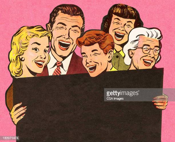 group of people laughing - laughing stock illustrations, clip art, cartoons, & icons