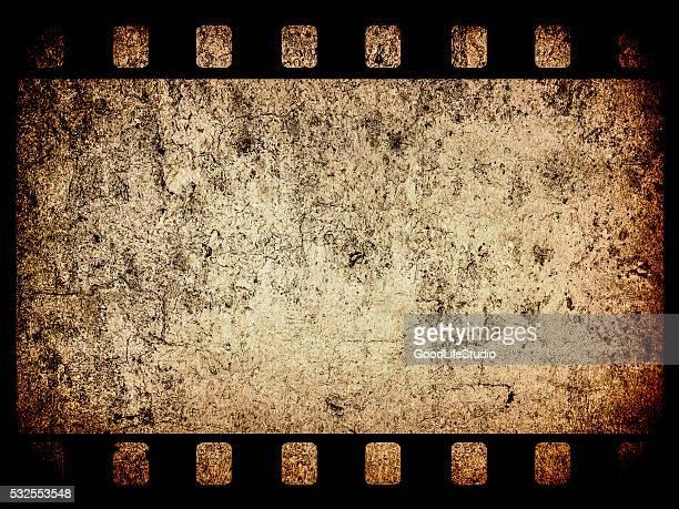 Grunge 35mm film frame