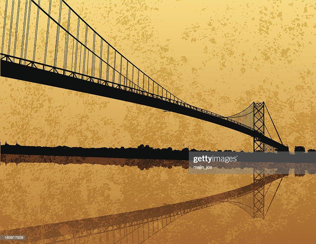 Grunge Ambassador Bridge Scene