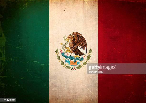 Bandera de Grunge de México