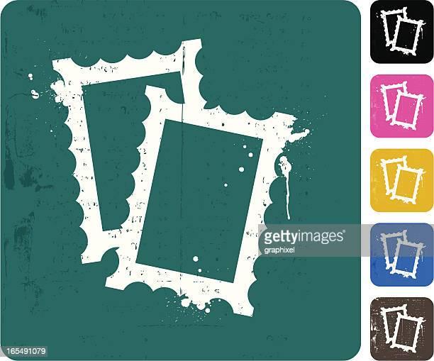 Grunge Frame Icon