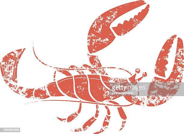 Grunge lobster