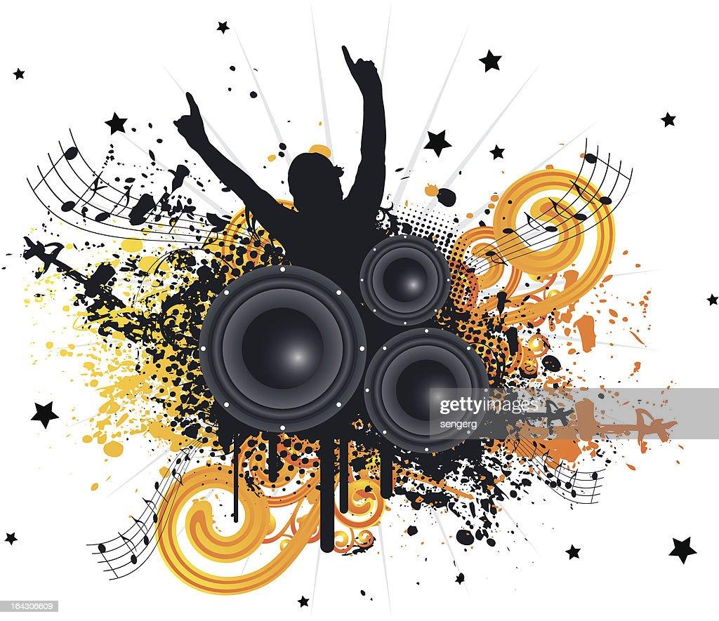 Grunge Music Fan