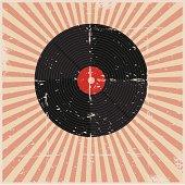 Grunge Record Poster
