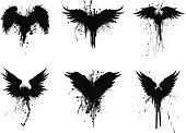 grunge wings
