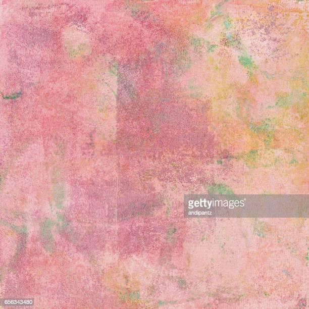 汚れたパステル色の手描きの背景