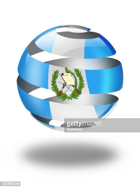 guatemala button with guatemalan flag isolated on white - guatemala stock illustrations, clip art, cartoons, & icons