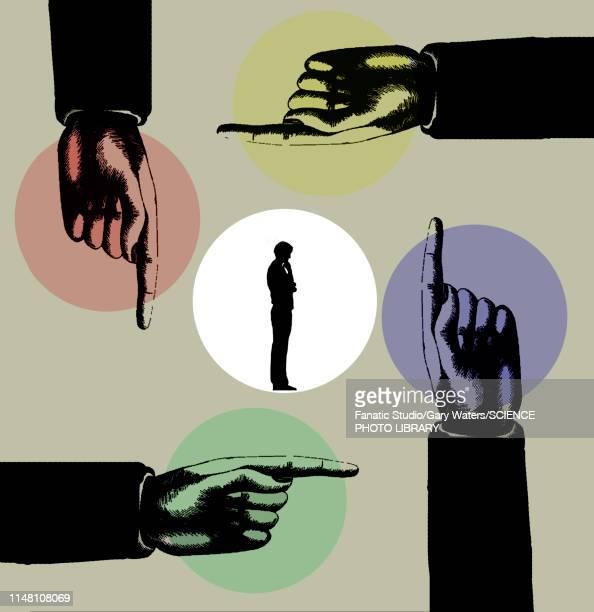 ilustraciones, imágenes clip art, dibujos animados e iconos de stock de guidance, conceptual illustration - uncertainty