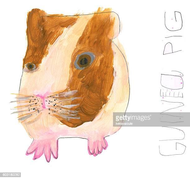 Guinea pig artwork