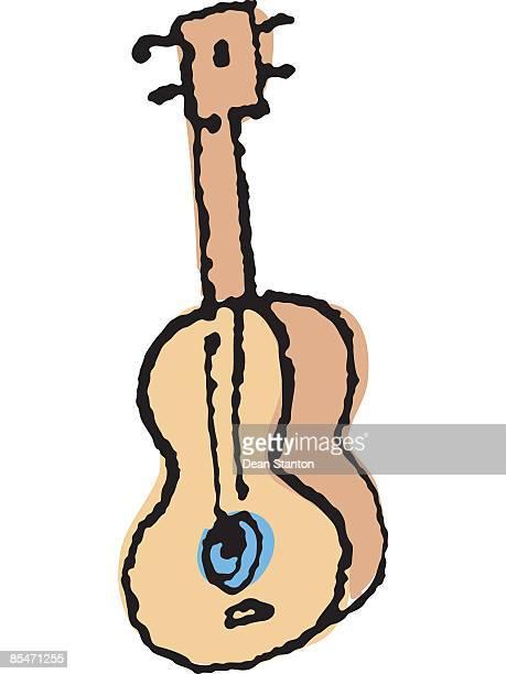 Illustrations Et Dessins Animes De Guitare Classique Getty Images