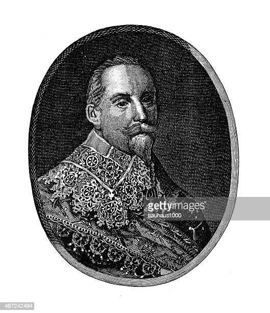 Gustavus Adolphus, 1594-1632, Engraving