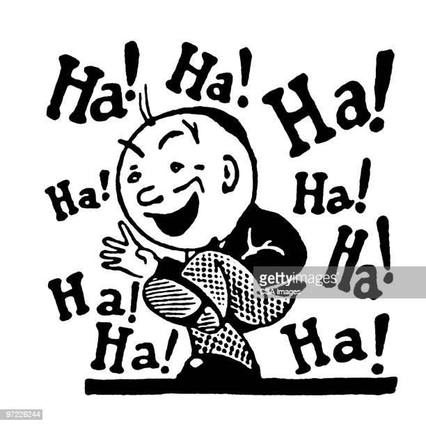 ha! ha! - only men stock illustrations