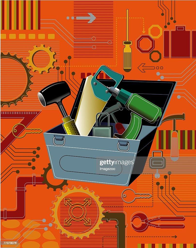 hacker's tools : Illustration