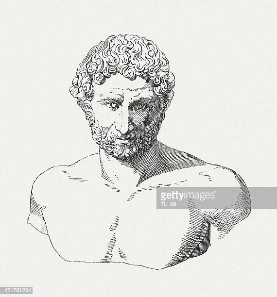 illustrazioni stock, clip art, cartoni animati e icone di tendenza di adriano (76 ad - 138 ad), imperatore romano, publ.   1881 - penitente people