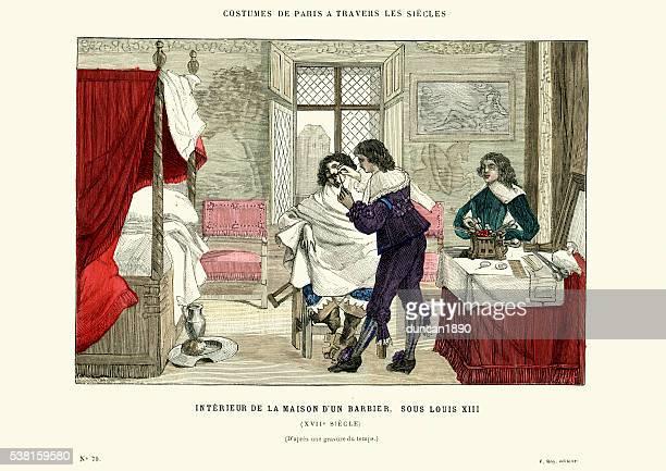 Hairdresser in 17th Century France