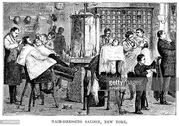 Hairdressing Saloon, New York
