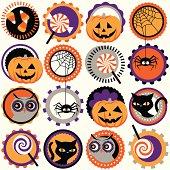 Halloween circles