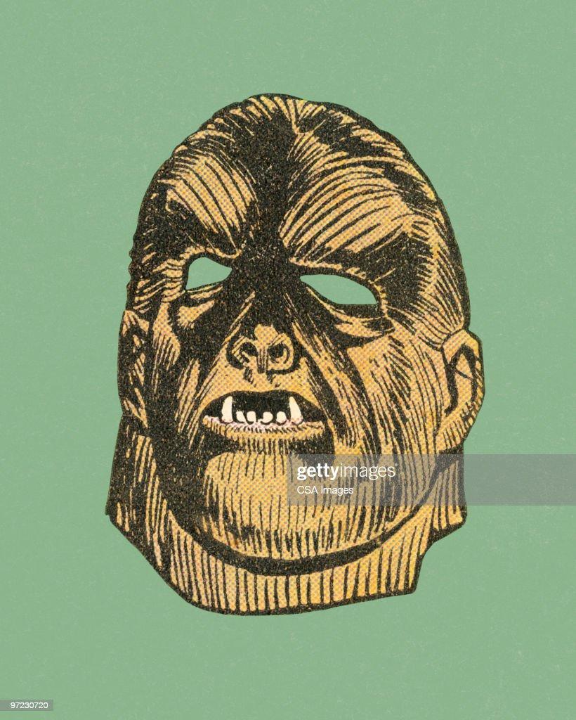 Halloween Mask : stock illustration